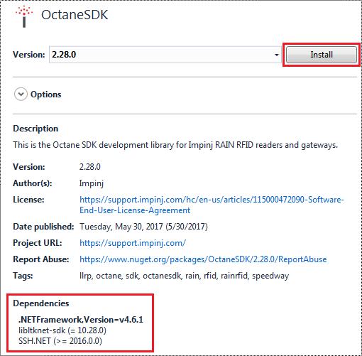 Octane SDK – Impinj Support Portal